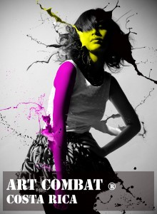 2nd Annual Art Combat in Avenida Escazú