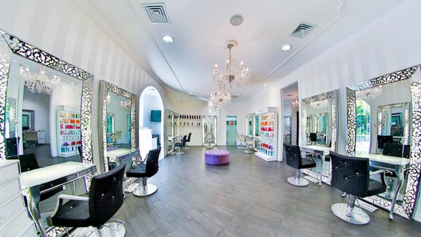 Allure beauty salon in plaza los laureles escaz san for Allure hair salon
