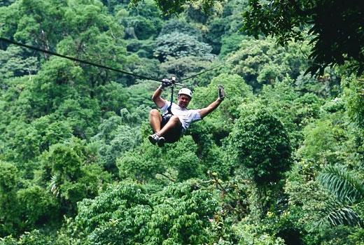 & Sky Trek Canopy Tour near Arenal Volcano - Pura Vida Guide Costa Rica