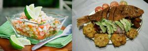 Costa Rica festival food