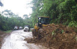 route 32 landslide