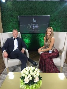 Carmen Aub and Randall Vargas Co-hosts of Miss Costa Rica 2016