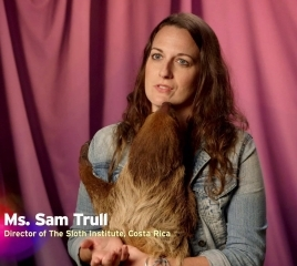 Sam Trull co-founder of the Sloth Institute in Costa Rica