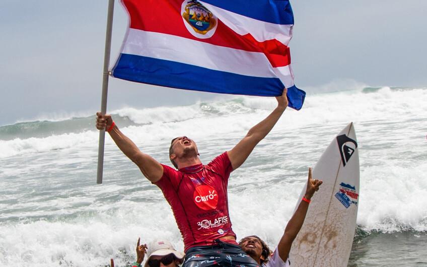 defending world champion costa rica to host isa world surfing games