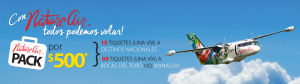Great Deal by Nature Air Costa Rica: Promotional Package of $500 for 20 Flights