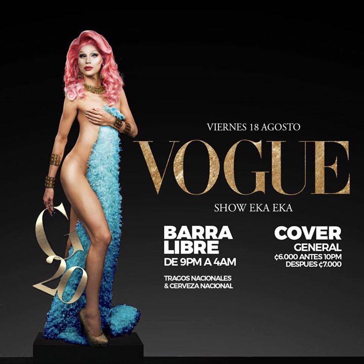 Vogue at club teatro pura vida guide costa rica for Adda beauty salon cartierul latin