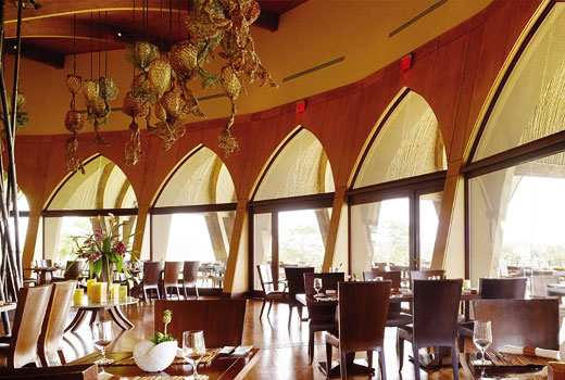 Caracol restaurant in pen nsula de papagayo guanacaste for Four restaurant