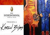 Karen Bibas Art Exhibit at The Real Intercontinental