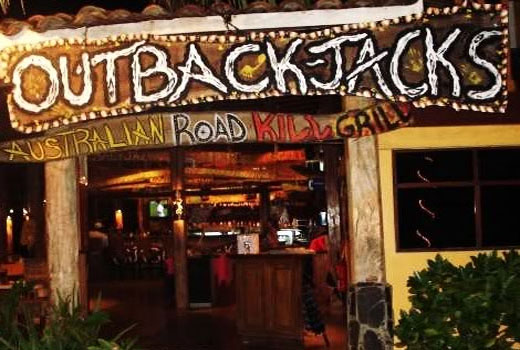 Outback Jacks Australian Road Kill Grill And Beach Bar In